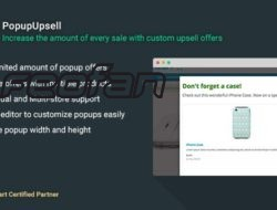 PopupUpsell 3.3.8 — увеличение суммы каждой продажи OpenCart