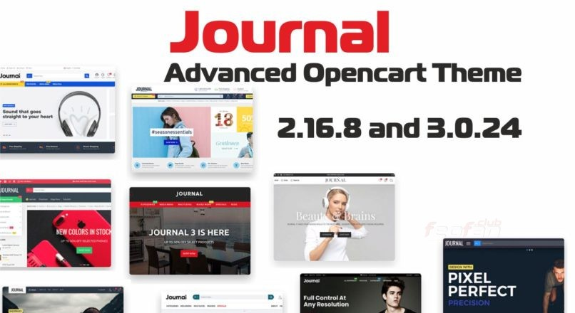 Journal — Advanced Opencart Theme 2.16.8 and 3.0.24