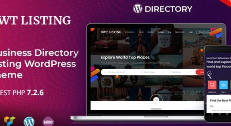 DWT Listing — Directory & Listing WordPress Theme v 3.0.4