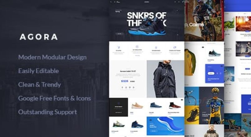 Agora — AJAX WooCommerce Theme