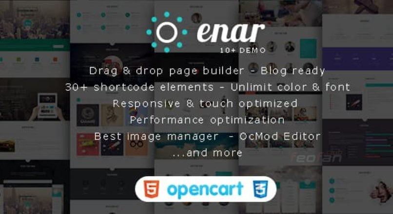Enar — Multi-purpose Creative Opencart Theme