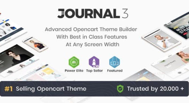 Journal — Advanced Opencart Theme 3.x