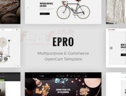 ePro — Premium OpenCart Template