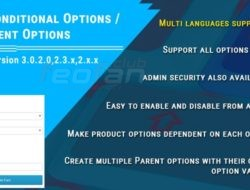 Conditional Options / Dependent Options