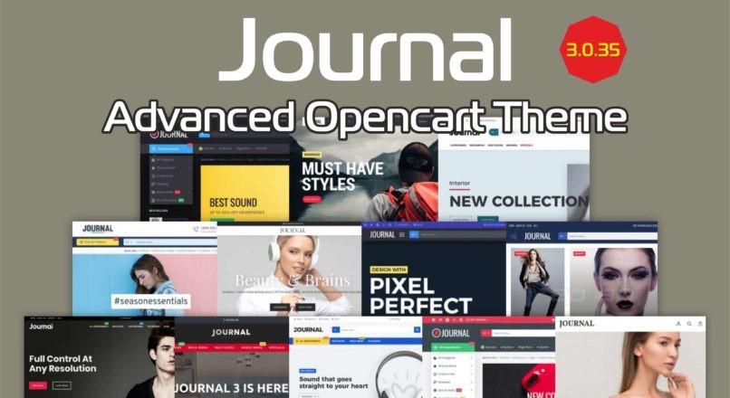 Journal — Advanced Opencart Theme v.3.0.35