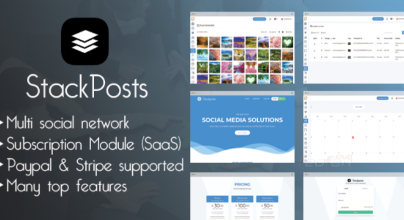 Stackposts — Social Marketing Tool [codecanyon]