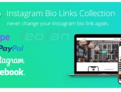 BioLinks — свой сервис по созданию мультиссылки в Instagram + русификатор VIP