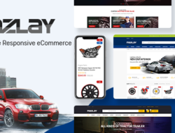 Mazlay — Car Accessories OpenCart Theme (Included Color Swatches)