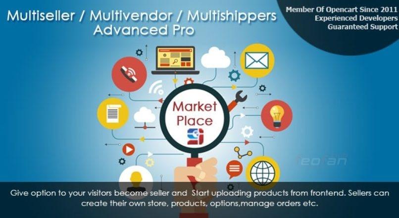 Торговая Площадка Multiseller / Multivendor Advanced Pro Opencart