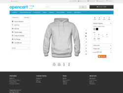Opencart Custom Product Designer 4.4.2 VIP