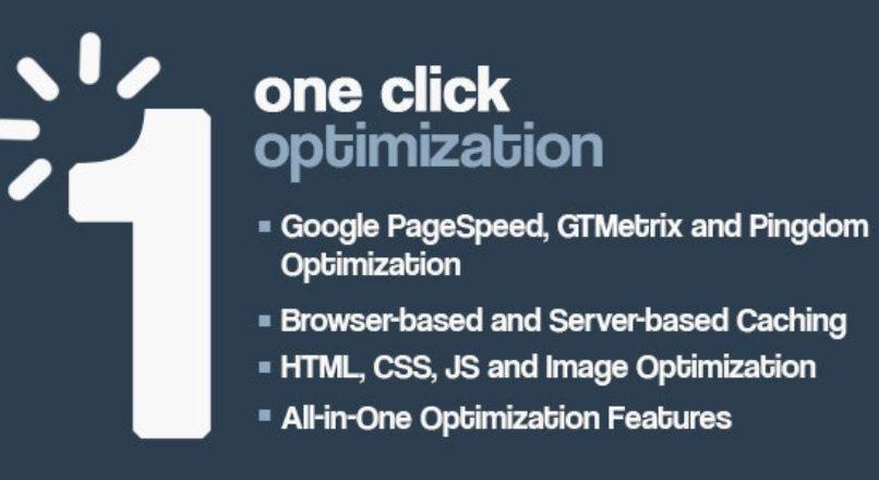 One Click — Скорость и оптимизация производительности WordPress