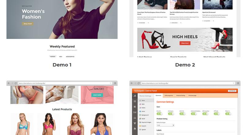 Trendo — Minimalistic Fashion Store OpenCart Theme