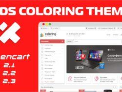 Адаптивный шаблон — XDS Coloring Theme 1.6.6 <b>VIP</b>