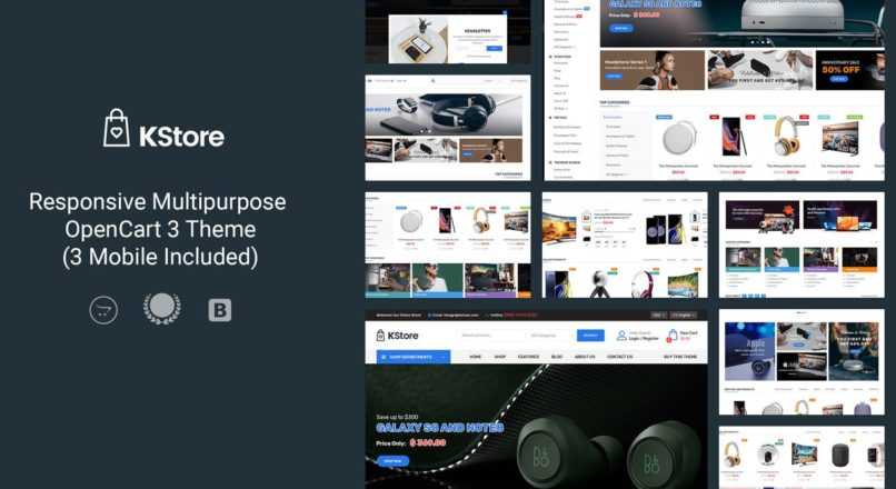 KStore — Multipurpose OpenCart 3 Hi-Tech Theme