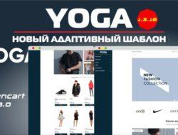 YOGA — Новый адаптивный шаблон 1.3.16 ☃