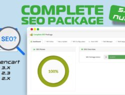 Complete SEO Package the best seo extension for opencart v5.1.5 nulled