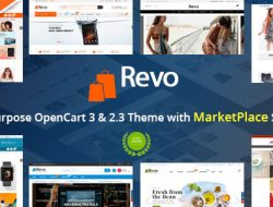 Revo — Drag & Drop Multipurpose OpenCart 3 & 2.3 Theme with 15 Layouts Ready v.1.2.5