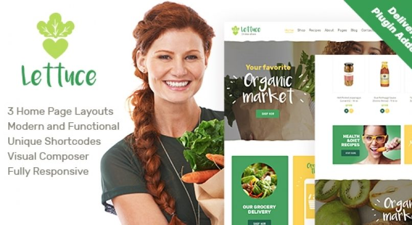 Lettuce | Organic Food & Eco Online Store Products WordPress Theme v1.1