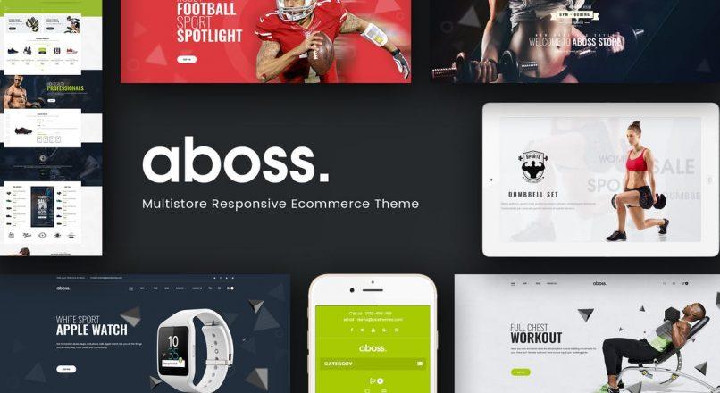 Aboss — Отзывчивая Prestashop Тема