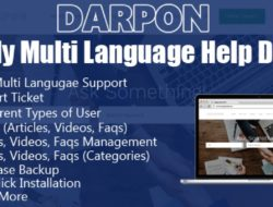 Darpon Help Desk Script