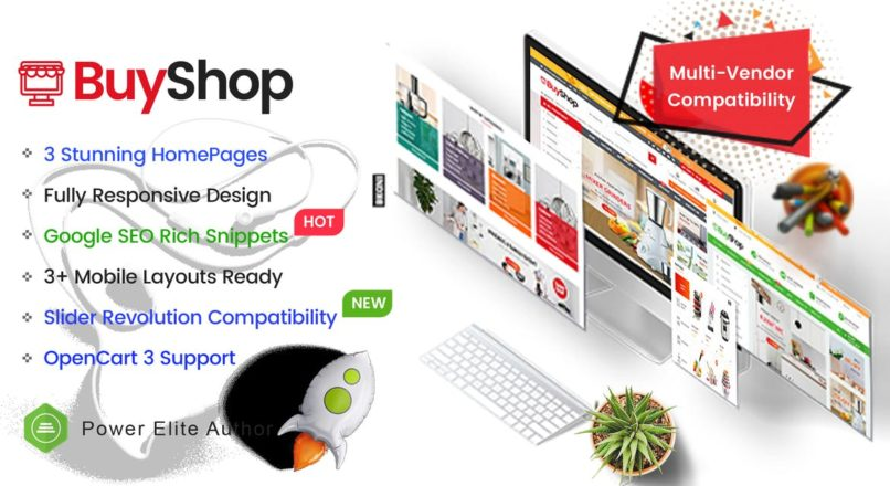 BuyShop — Responsive & Multipurpose OpenCart 3 Theme with Mobile-Specific Layouts