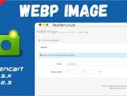 Opencart — WebP Image OCMOD 3.x Journal 3