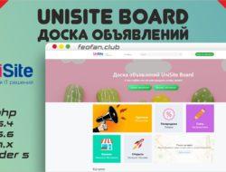 UniSite Board 3.0 — Доска объявлений null VIP