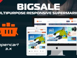 BigSale The Multipurpose Responsive SuperMarket Opencart 3 Theme With 3 Mobile Layouts