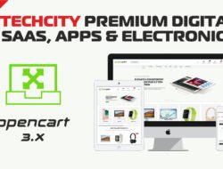 TechCity Premium Digital, SaaS, Apps & Electronics Opencart 3 Theme
