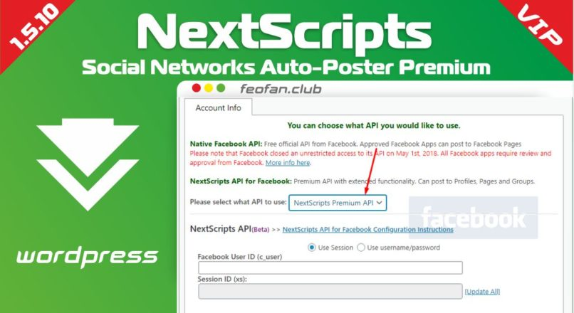 NextScripts Social Networks Auto-Poster Premium 1.5.10 null VIP