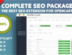 Complete SEO Package the best seo extension for opencart v.5.3.0 Key