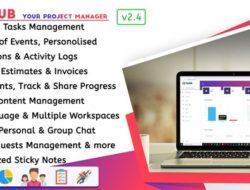 Taskhub Управление проектами, CRM v.2.4 VIP