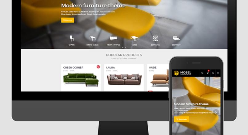 Mobel Furniture OpenCart Theme v.1.6