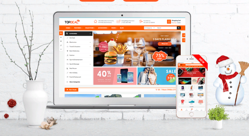 TopDeal MarketPlace | Multi Vendor Responsive Theme with Mobile-Specific Layouts v.1.0.7