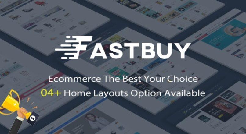 FastBuy Mega Shop Responsive Opencart 3 Theme