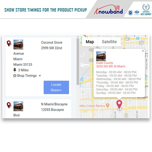 Store Locator and Pickup v.1.3 - Магазин на карте для самовывоза