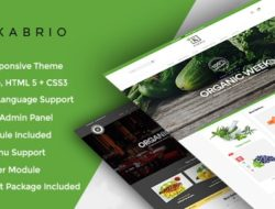 Kabrio Food Store Responsive OpenCart Theme
