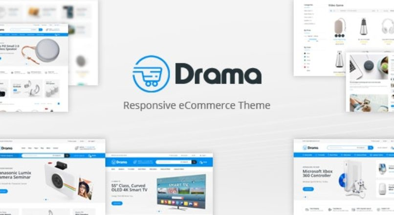 Drama — Responsive OpenCart Theme (Included Color Swatches)