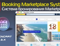 Booking Marketplace System — Система бронирования Marketplace