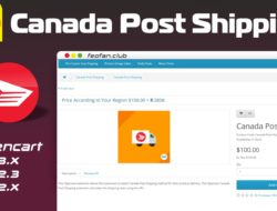 Opencart Canada Post Shipping v.2.0.0