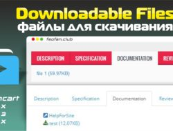 Downloadable Files — Файлы для скачивания
