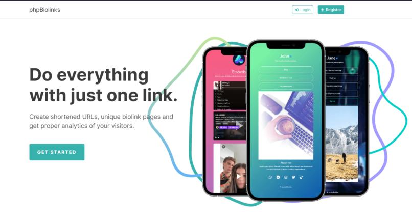 BioLinks Instagram & TikTok Bio Links & URL Shortener (SAAS Ready) v.6.2.0