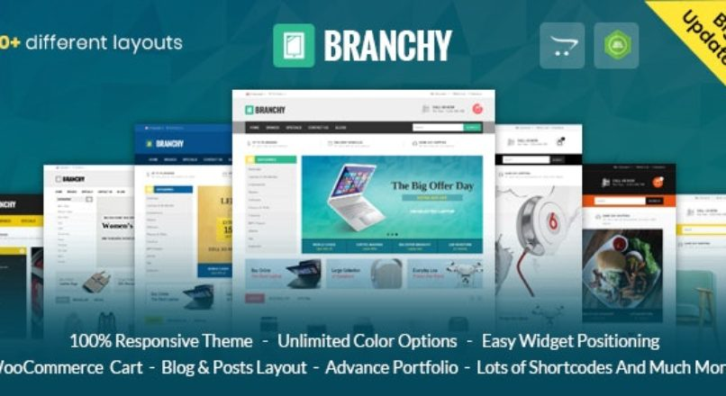 Branchy Opencart 3 & 2 Responsive Theme