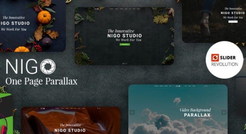 Nigo Creative Parallax One Page HTML Template