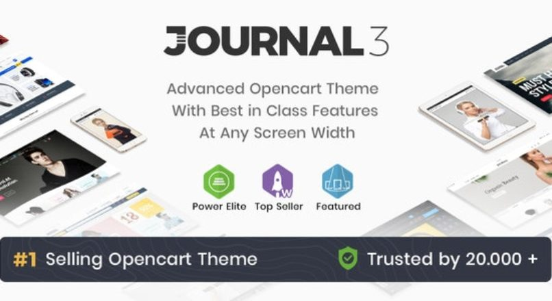 Journal — Advanced Opencart Theme Framework 3.2.0. Beta 4