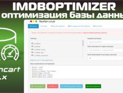 IMDBOptimizer (OC 3) Оптимизация базы данных v.1.4.1 KEY