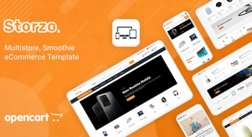 Storzo Multipurpose E-commerce Opencart 3 Theme v.2.0.0